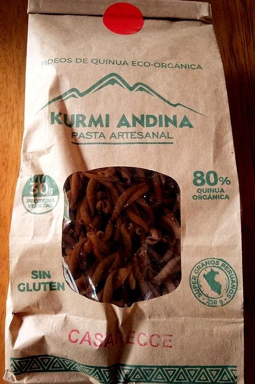 Casarecce de Quinoa Organica Kurmi Andina