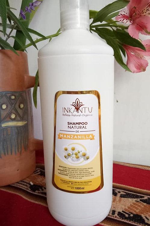 Shampoo de Manzanilla Inkantu