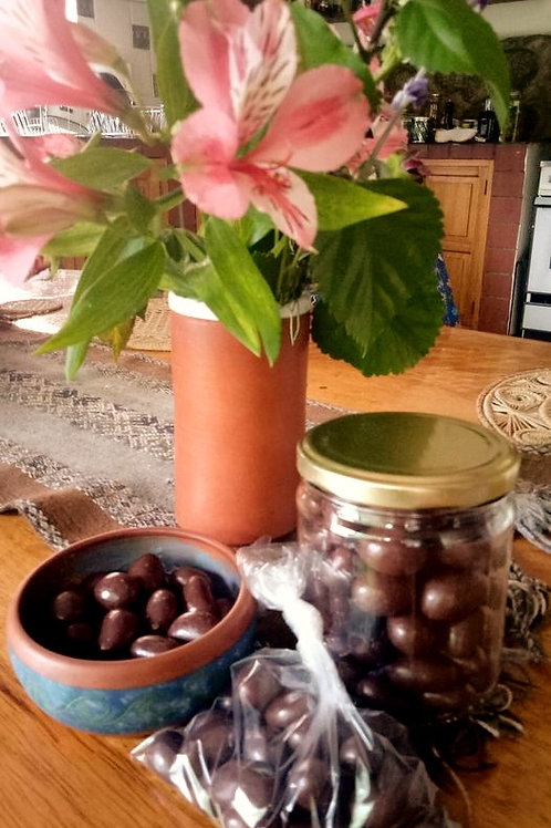 Cashews cubiertos de chocolate Bitter