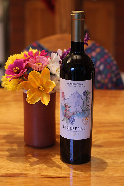 Vino Blueberry Morandina