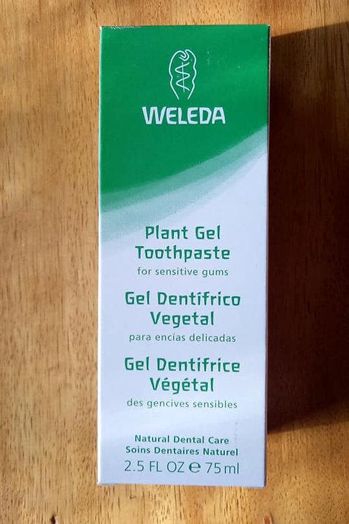 Gel Dentrifico Vegetal Weleda