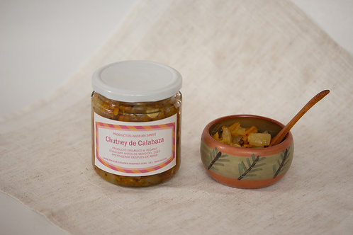 Chutney de Calabaza Picante