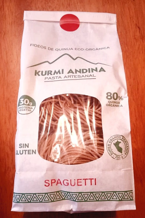 Spaghetti de Quinoa Organica Kurmi Andino