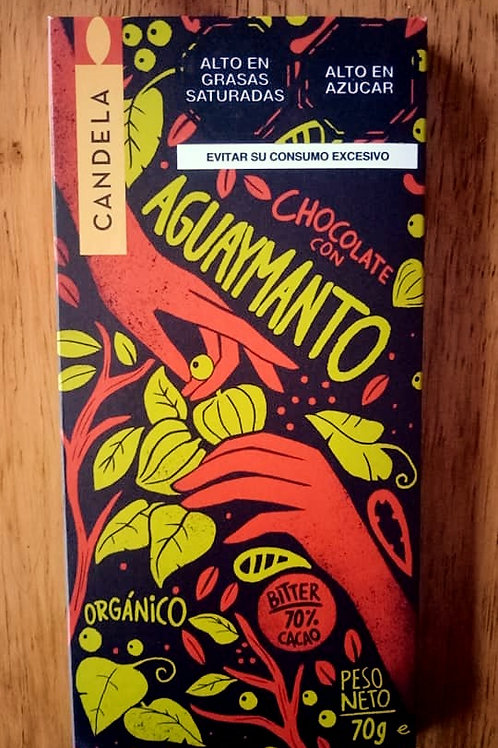Chocolate Bitter con Aguaymanto