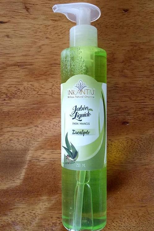 Jabon liquido de eucalipto Inkantu