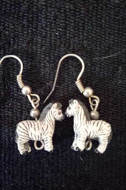 Aretes de zebra
