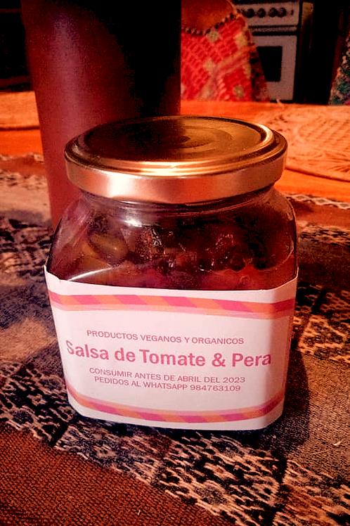 Salsa de Tomate & Pera (Relish)