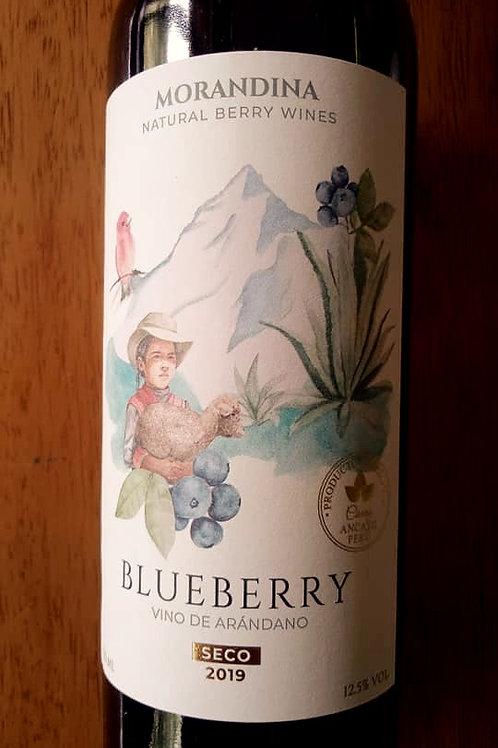Vino de Blueberry Morandina Seco