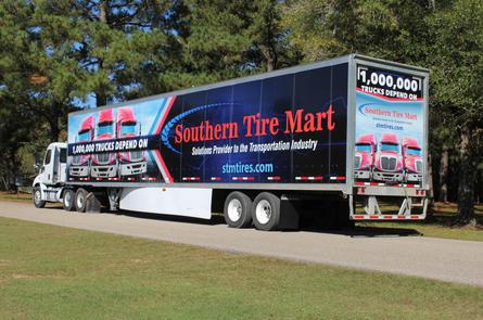 STM Truck Wrap - 1,000,000 Trucks