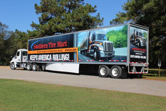 STM Truck Wrap - Keep America Rolling