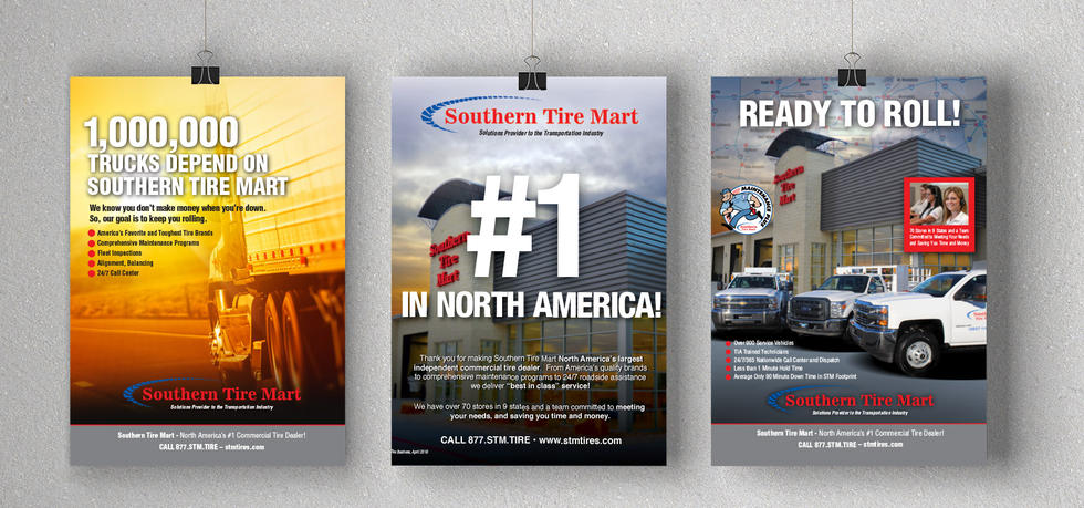 Southern Tire Mart - Show Room Posters