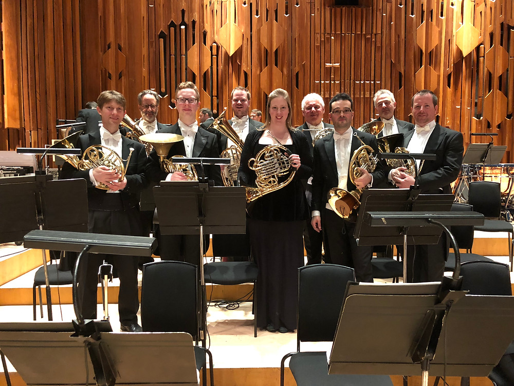David with the London Symphony Orchestra
