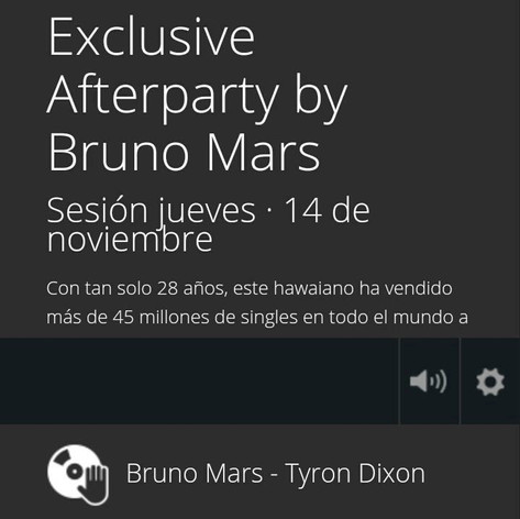 Bruno Mars Tyron Dixon