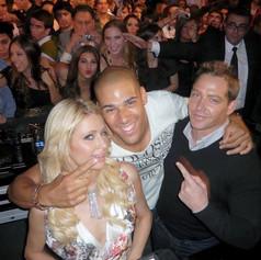 Paris Hilton, Tyron Dixon & Cy Waits