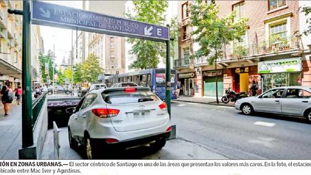Arriendos de estacionamientos van al alza y Lo Barnechea lidera los precios más altos