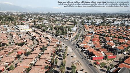 Estudio advierte que barrios de Renca podrían transformarse en una nueva Estación Central, por Línea