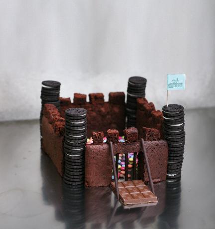 Gâteau château fort