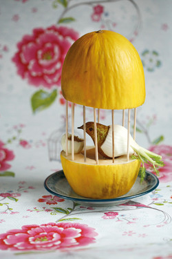 Oiseau en cage