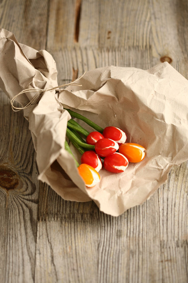 Bouquet comestible