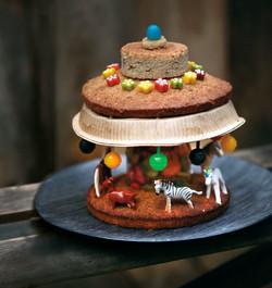 Gâteau manège