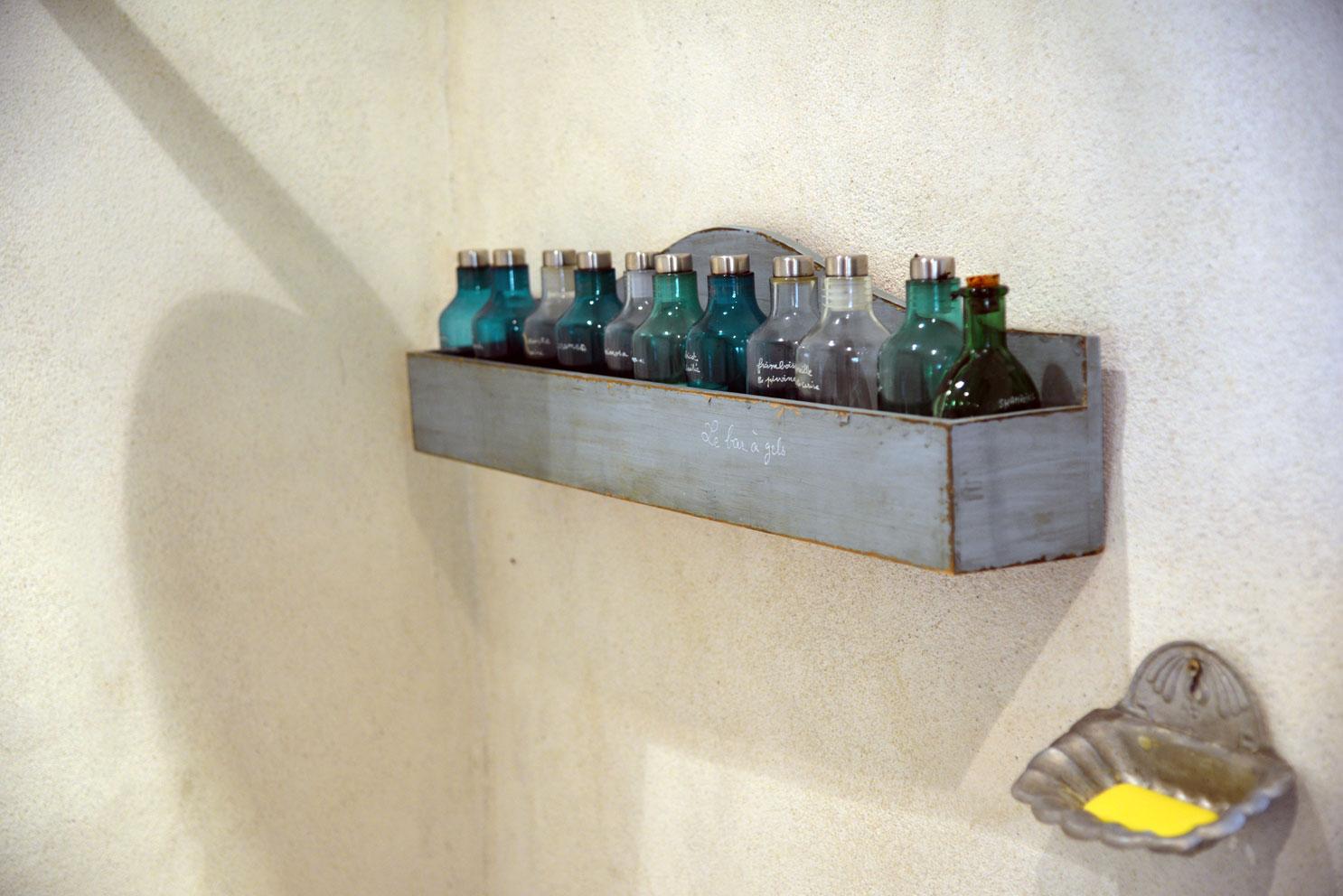 Bar à gels douches