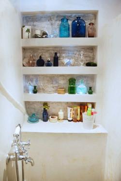 Intérieur de douche