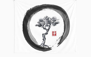 Zen circle andTree