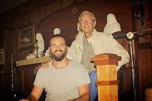 edward and his Kriya Yoga Teacher, Roy Eugene Davis