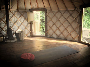 The Yurt at The Tree Relaxation Retreat