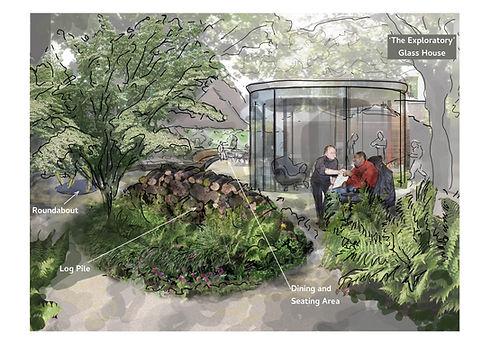 The Chiltern Centre Exploratory Garden R