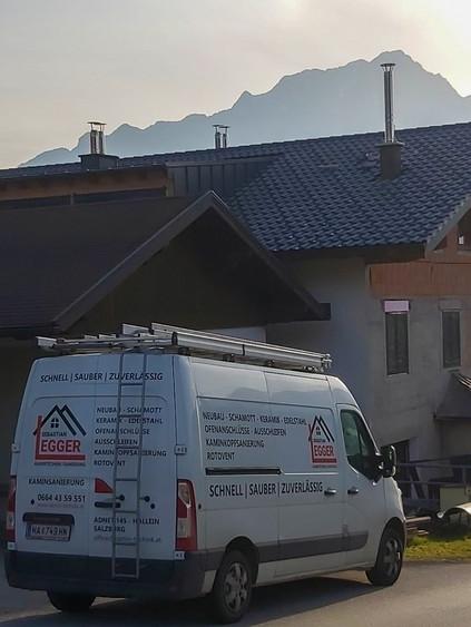 Kamintechnik/Kaminsanierung Sebastian Egger   Kaminabdeckung