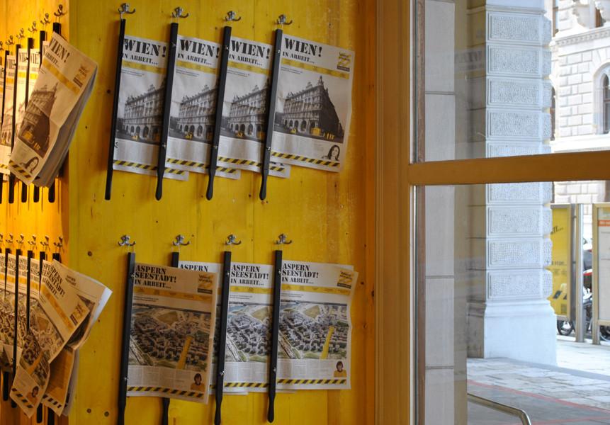 Wien! in Arbeit... Die Zeitung zur Ausstellung