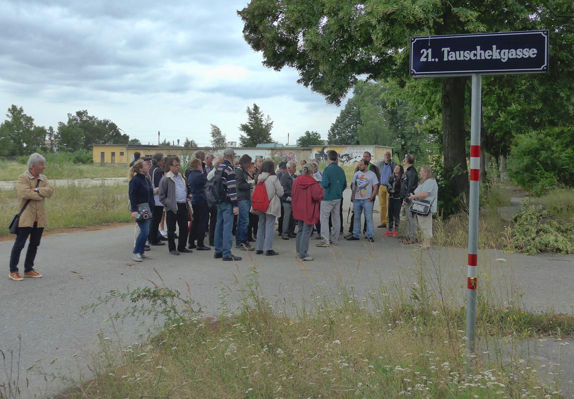 Exkursion zum Gaswerkareal Neu Leopoldau