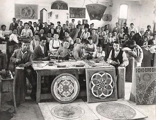 Scuola-mosaicisti-del-friuli-mozaïekschool