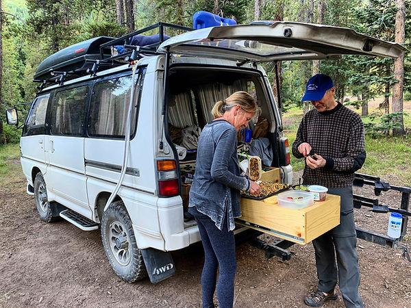 Mistubishi Delica camper van 4wd diesel