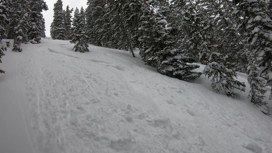 Drew Kelly going very deep in the Colorado backcountry