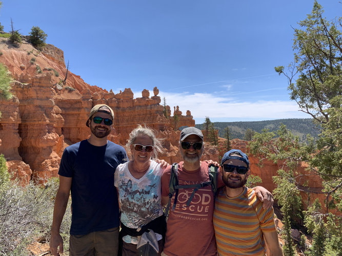 Bryce Canyon with Fam
