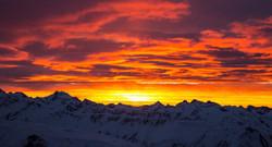 Sonnenaufgangsstimmung