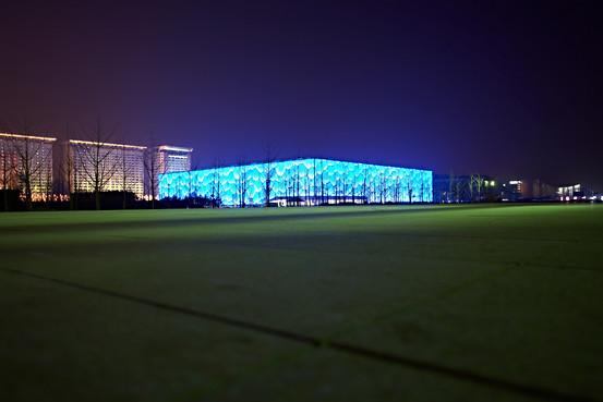 Watercube (Schwimmstadion Olympischen Spiele 2008) Beijing China