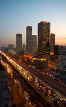 Rush hour in Beijing China