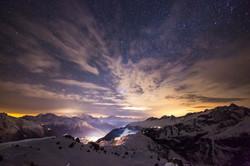 Sicht Richtung Matterhorn