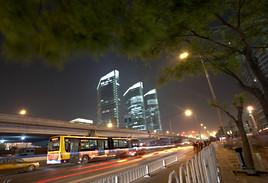 Modernes Beijing China