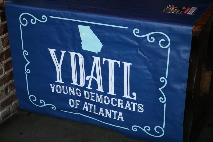 Young Democrats of Atlanta at Manuel's Tavern