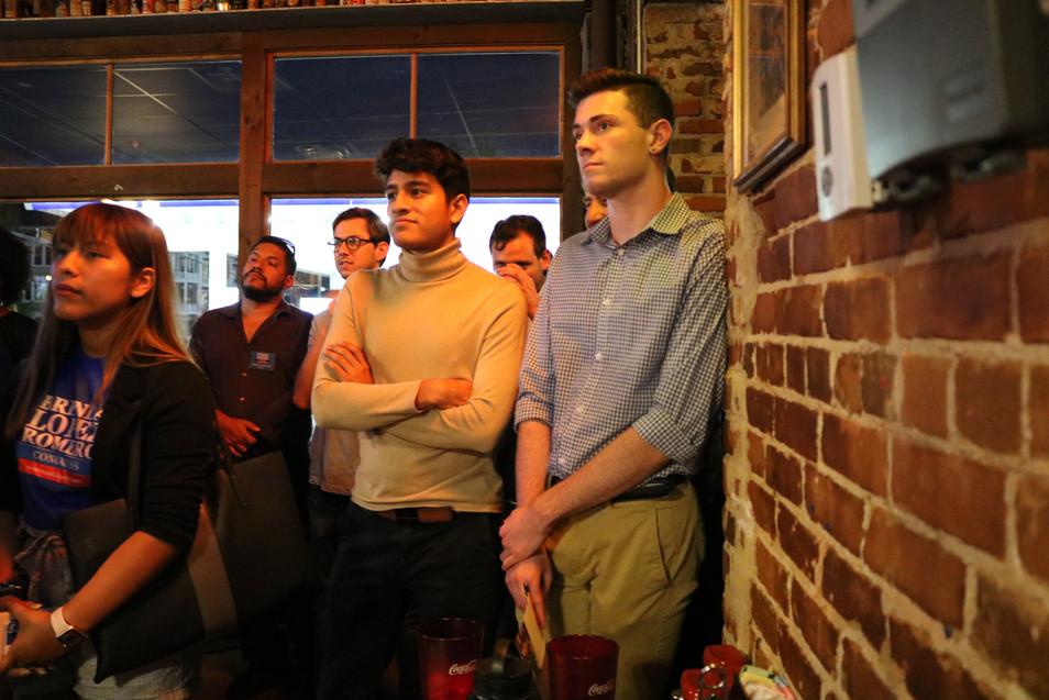 Young Democrats hearing from 2020 U.S. Senate Candidates