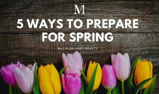 5 Ways To Prepare For Spring