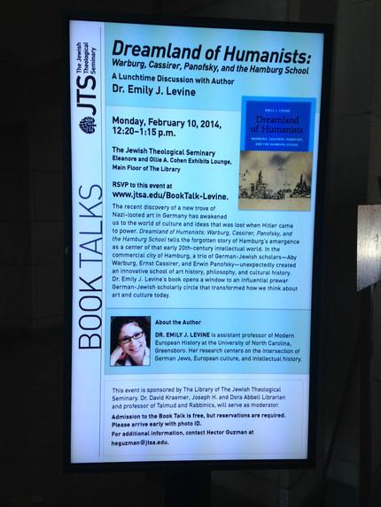 Book Talk at JTS