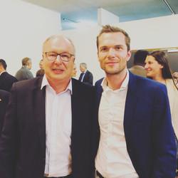 Avec Pierre-Yves Maillard 2019 09 26