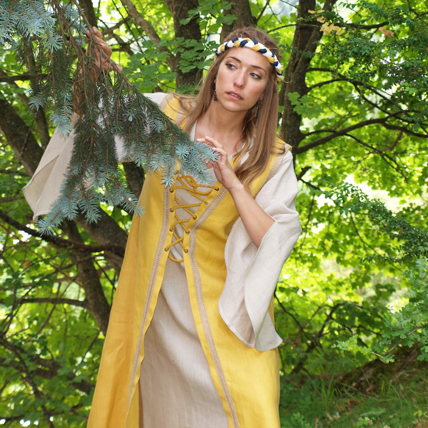 Vestido medieval OFELIA