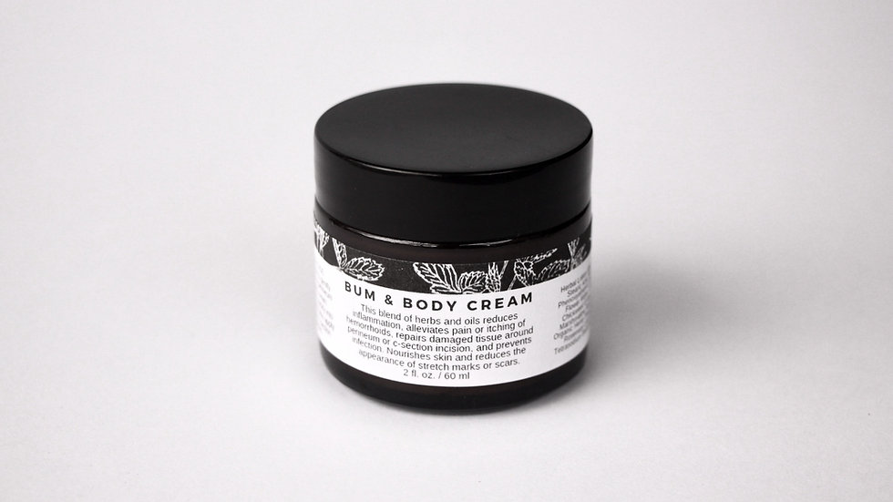 Bum & Body Cream - $10