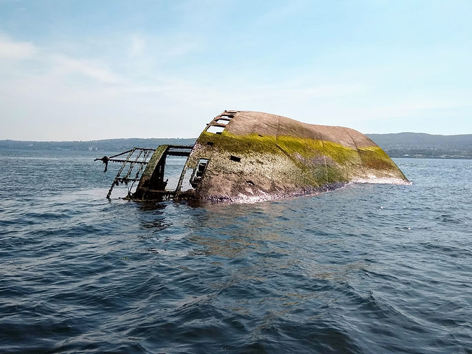 Scottish Shipwrecks Powerboat Trip MV Ca